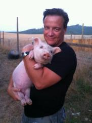 Scott Beckstead, with Truffles